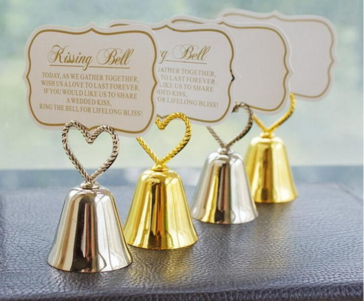 "100pcs Wedding Favor Party Favors ""Kissing Bells"" Place"