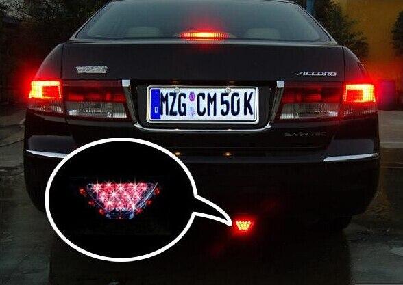 skuer автомобиля F1 гоночный фонари модифицированный автомобиль светодиодные тормозные свет светодиодные лампы-вспышки вспышка света автомобиля задний фонарь