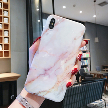 Iphone XR Case Imd Marble Stone Gel Case for iPhone 7 6s 6 8 Plus Silicon Soft TPU Back Cover X XR XS MAX Cases Soft Phone Case