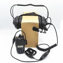 Высокое качество Ultradio шумоподавление авиационная гарнитура/шлем/наушники Совместимость со всеми K1 разъем двухстороннее радио для гонок