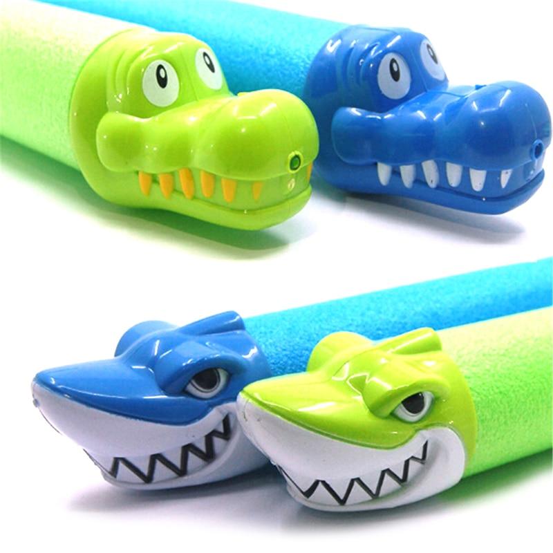 Shark/Crocodile Squirter Toys Summer Water Guns Kids Toys Pistol Blaster Outdoor Games Swimming Pool For Children