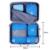 BAGSMART 4 PCS Cubos de Embalagem À Prova D' Água Nylon Viagem Bagagem Embalagem Organizadores Para Sapatos Compõem Cosméticos Encomendar O Seu Suitacase