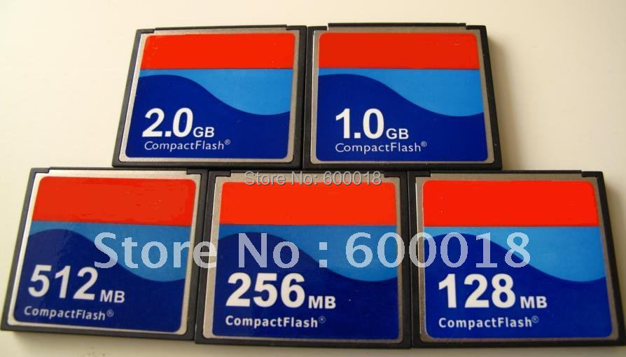 L Industrial Compact Flash CF 256MB 512MB 1GB 2GB  Memory Card For CNC Machining Center For Industrial Equipment For IPC