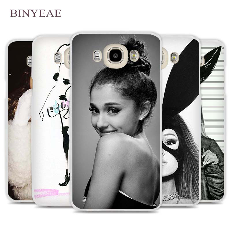 BINYEAE Cat Ar Ariana Grande Phone Case Cover for Samsung Galaxy J1 J2 J3 J5 J7 C5 C7 C9 E5 E7 2016 2017 Prime ...