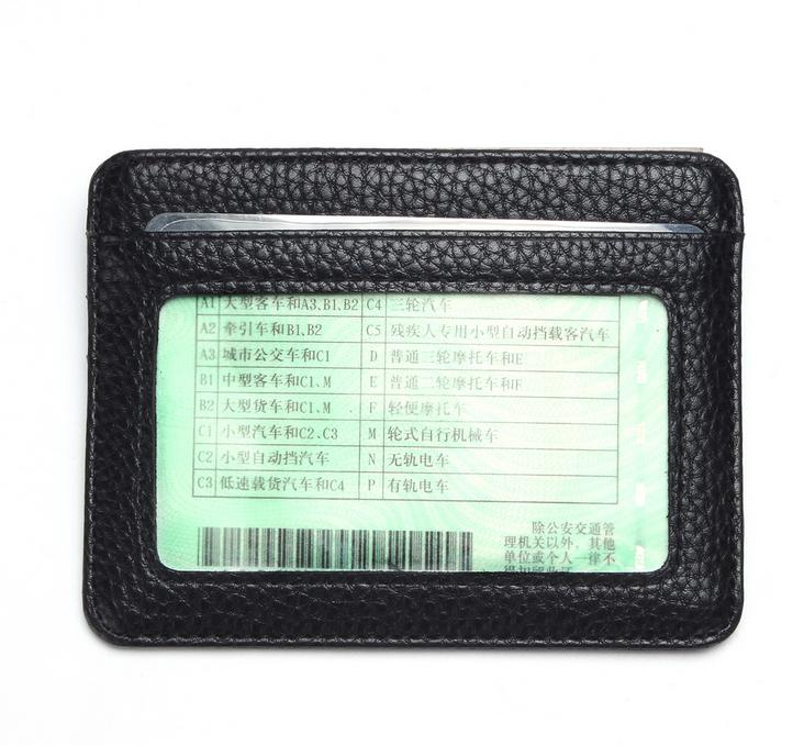 Fashion New 6 Colors Men Women Driver License ID Holders Pack Quality Patent Leather Casual Business Card Holder Free Shipping