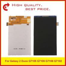 """10 шт./лот оригинальное качество 5,25 """"для samsung Galaxy Grand 2 Duos G7105 G7106 G7108 G7102 ЖК экран + код отслеживания"""