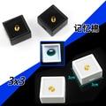 Superior 3xm x 3cm 35pcs/lot Diamond Display Box  Plastic Diamond Case Stone Box Gem Box Black and White