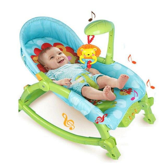 Прекрасный ребенок электрическая кресло-качалка 2016 последние ребенка кресло-качалка чтобы успокоить ребенок может сидеть может лежать может сложить электрический колыбель