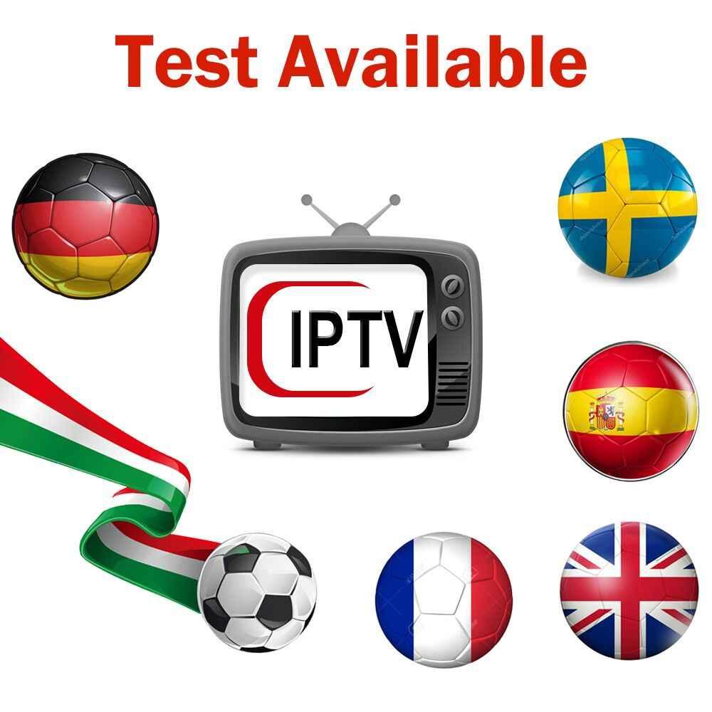2019 Модернизированный IP ТВ M3U Италия подписки Liste Смарт ТВ поток Экстрим Премиум бесплатно Албании Le іэнэ