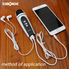 microphone for mobile/ios/android/iphone/cellphone/pc usb 3.5mm interface duet for studio record, condenser microphone MC-919A