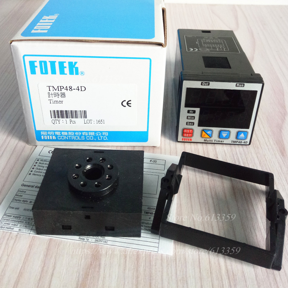 TMP48 4D FOTEK Timer New & Original 90 265VAC-in Electronics Production Machinery from Electronic Components & Supplies    1