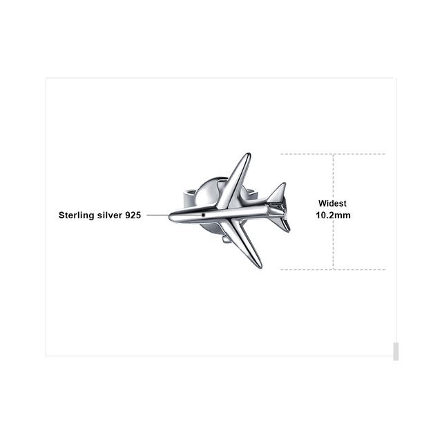 Airplane Thread Drop Earrings