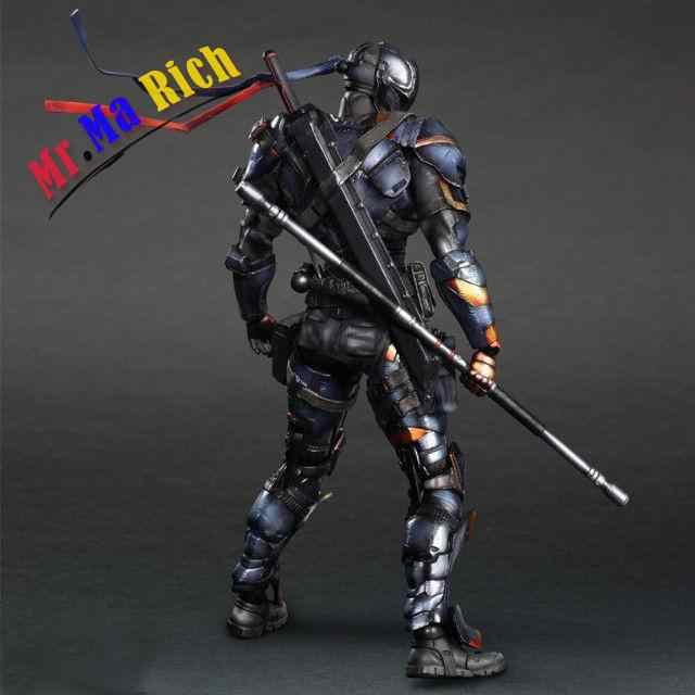 Jogar Arts Kai Arkham Exterminador Deadpool Action Figure Modelo Toy Boneca DC Comics