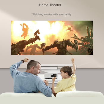 BYINTEK RD804 ATV 1280×800 Digital cL720 WXGA 1080P Video LCD Portable Home Theater HDMI HDTV USB Video LED HD Projector