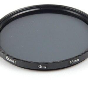 Image 5 - Pixco 58 MM Aksesuar Komple Tam Renkli Özel Filtre dijital kamera Lens Gri