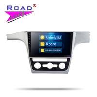 Roadlover Android 8,1 Автомобильный мультимедийный плеер для VW Passat 2011 2012 2013 2014 2015 стерео gps навигации Automagnitol MP3 без DVD