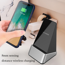 15W phone wireless charger support for iphone xs max Charging Station Phone holder mount Stand for huawei meta20Pro samsung S9