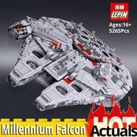 In stock DHL LEPIN Star movie wars 05033 Set compatible 2007 legoinglys UCS millennium falcon 10179 building blocks toys bricks