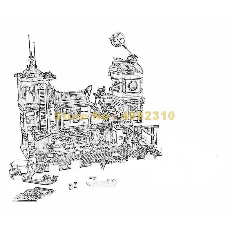 10941 3635 個忍者都市ドックベラ 12 + フィギュア · ビルディング · ブロック 70657 レンガのおもちゃ  グループ上の おもちゃ & ホビー からの ブロック の中 1