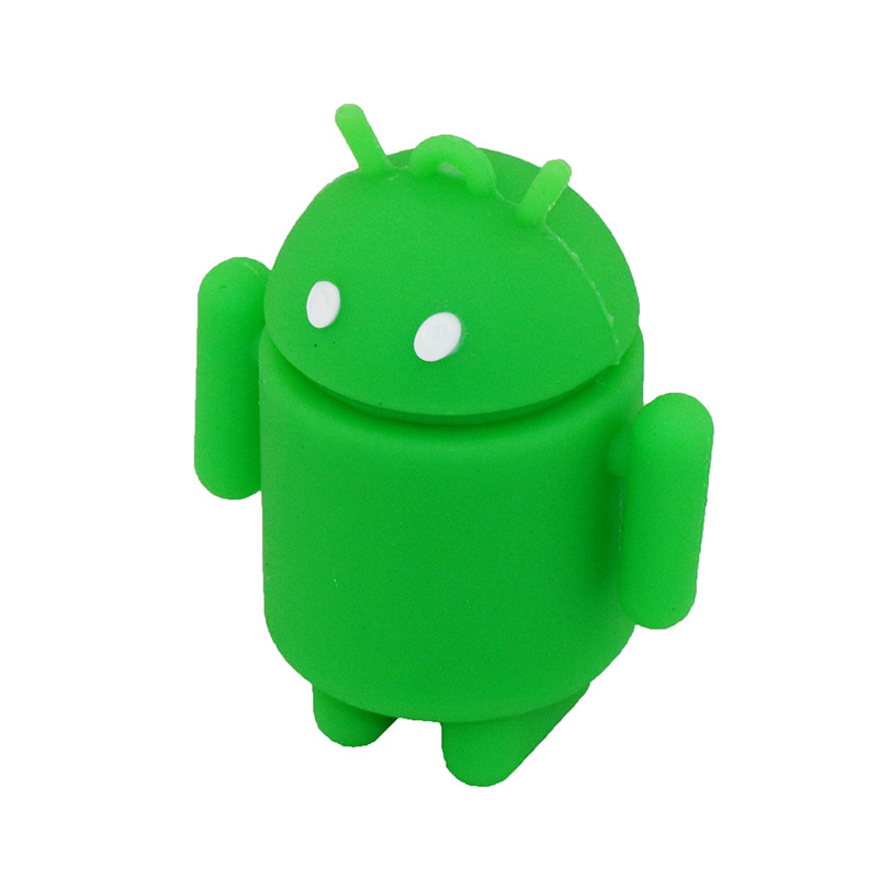 Pen Drive Cartoon Söt Android Robot Extern lagring 8 GB 16 GB 32 GB - Extern lagring - Foto 6