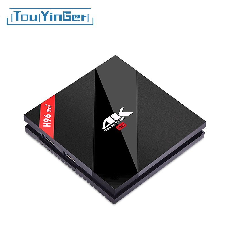 Touyinger Players 4k Uhd Tv-Box Wifi Android Octa-Core-Ram Pro-Plus H96 BT4.1 64bit Amlogic S912