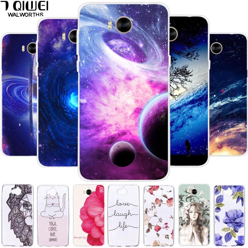 coque huawei y6 2017 galaxie