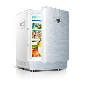 20L car refrigerator 2019 new 12V 220V car dual-use Cooler Box Refrigerator Mini Portable dormitory apartment refrigerated box
