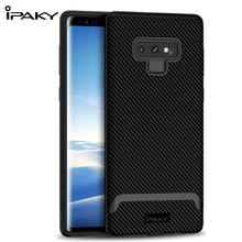 IPAKY For Samsung Galaxy Note9 Case TPU Silicon Shockproof Cover Case Hybrid Protective PC bumper For Samsung Note 9 Case Coque стоимость