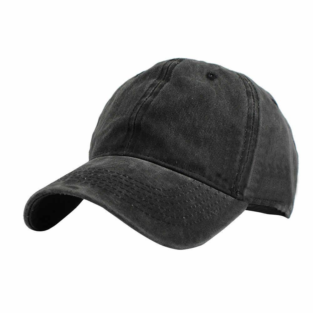 Estilo clásico gorra de béisbol de algodón hecho ajustable hombres mujeres bajo sombrero Casual tablero de luz gorra de béisbol gorro hombre verano