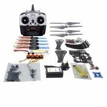 DIY RC Drone Quadrocopter RTF Camera Gimbal Mount X4M360L Frame Kit with QQ Super flight control Motor ESC Radiolink T8FB TX