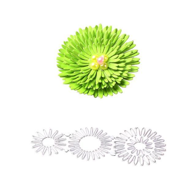 1 set di striscia decorativa del fiore del Metallo Fustelle Del Fiore da Taglio