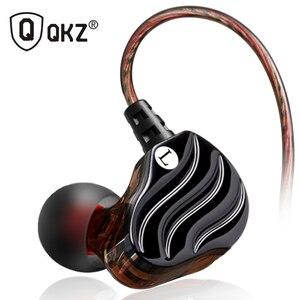 Image 1 - Earphones QKZ KD4 fone de ouvido Mini Dual Driver Original hybrid dual dynamic driver Headphone mp3 DJ Headset auriculares