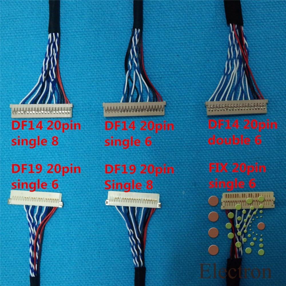 10 stks LCD scherm kabel Kit ondersteuning Universele LVDS Kabel voor - Computer kabels en connectoren - Foto 2