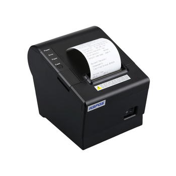 Network 58mm thermal receipt printer with auto cutter support logo printing high speed for pos system impresora