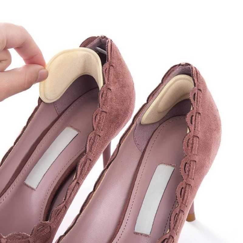 2 ชิ้น 1 คู่ซิลิโคน Insoles สำหรับรองเท้าแผ่นเจลสำหรับ Feet Care Heel Gel Insoles Pads ป้องกันส้น non Slip Foot Care Massager