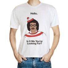 DY-185 Autumn Casual T Shirt Men Fashion O Neck Short Sleeve Cartoon Tee Shirts Free Shipping Size M-3XL