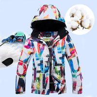 Winter Ski Jackets Women Snow Warm Windproof Skiing suits Winter Sports combinaison ski enfant Snowboard Set