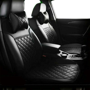 Image 2 - Car seat cover for bmw e46 coupe seat covers fully cover same structure fitment front and rear set leather seat covers for cars