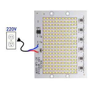 Image 5 - COB Chip LED 100W 50W 30W 20W 10W IC Thông Minh Không Cần Trình Điều Khiển LED SMD hạt Cho Pha Đèn Ngoài Trời Đèn