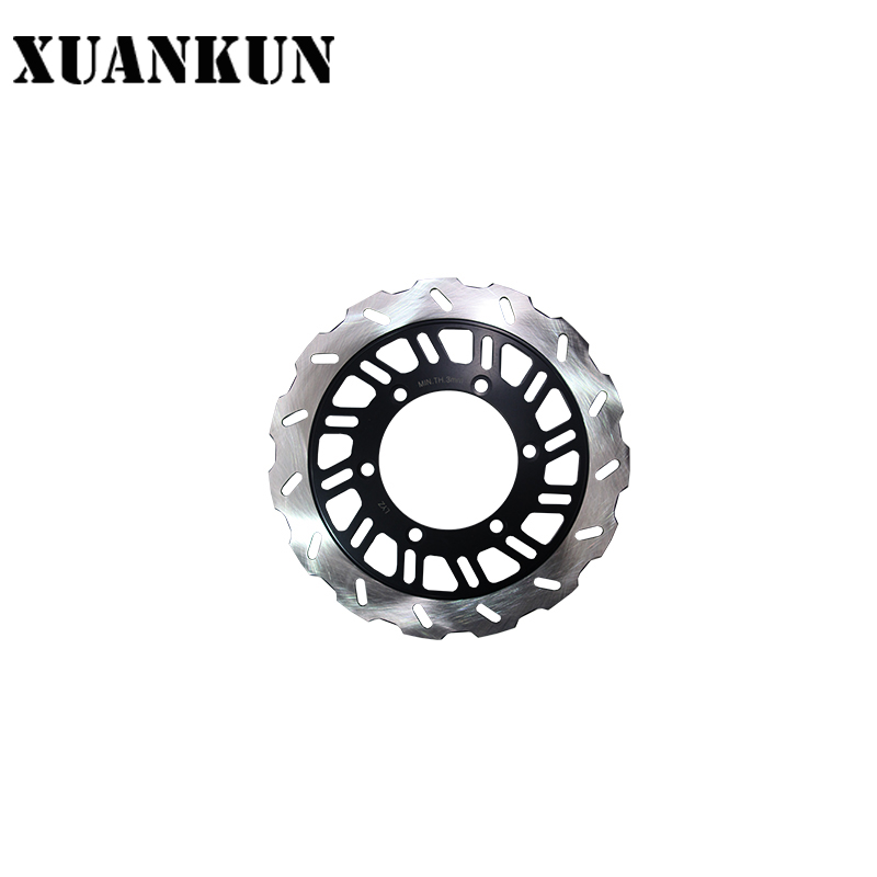 XUANKUN Motorcycle KPT200 / LF200-10L Front Brake Disc prorab dvr 5000