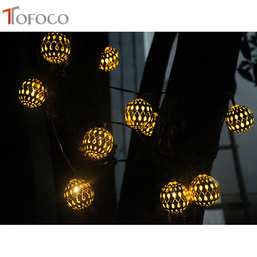 TOFOCO New Chic Flower Design Solar Toys Solar Power Light Toy String for Halloween Christmas Holiday