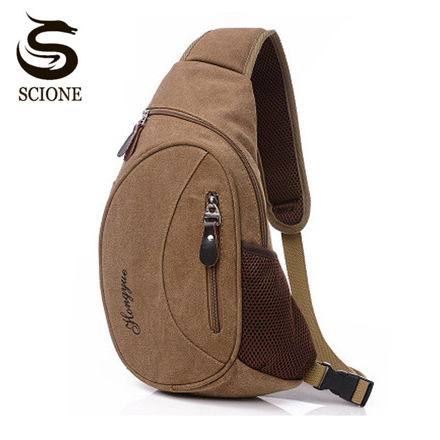205b5f210d3c US $12.83 10% OFF|New Arrival Canvas Men Cross Chest Bag Pack Male  Crossbody Shoulder Sling Bag Leisure Canvas Travel Messenger Bags JXY470 on  ...
