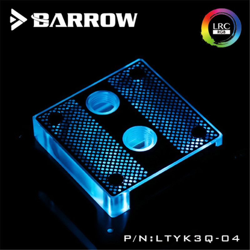 Barrow Hole Edition For INTEL CPU Water Block Acrylic 0.4MM Micro Channel For INTEL LGA-115X(1150 1151 1155 1156) цена