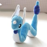 70 100CM Dragonair Any Bending Plush Toys Doll For Children Gift Soft Cute Anime Pikachu Childhood