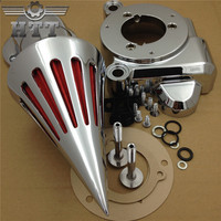 Aftermarket motorcycle parts Spike Air Cleaner Kits for 2014 Harley Ultra Limited FLHTK Street Glide FLHX CHROMED
