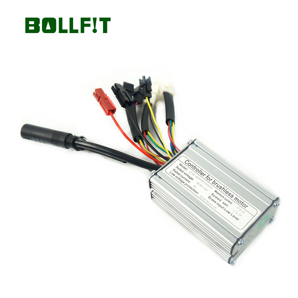 BOLLFIT Free Shipping Controller36 48V 17A Electric Bicycle KT kunteng 350W Motor 6 Better Mosfets Motor