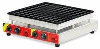 100 Holes Electric Small Dutch Poffertjes Grill Commercial Baby Pancakes Baker Maker 110V 220V for Dining Rooms Restaurants