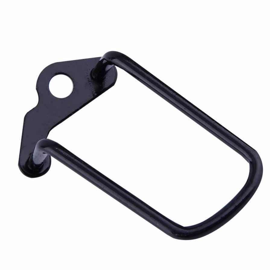 Vélo en acier au carbone gauche droite ailes fente réglable Durable vélo vélo dérailleur arrière chaîne rester garde engrenage protecteur