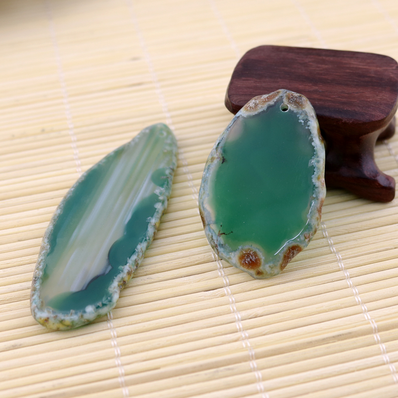Großhandel 1pcs gefärbte Farbe Drusy Anhänger Druzy Geode Perlen - Modeschmuck - Foto 4