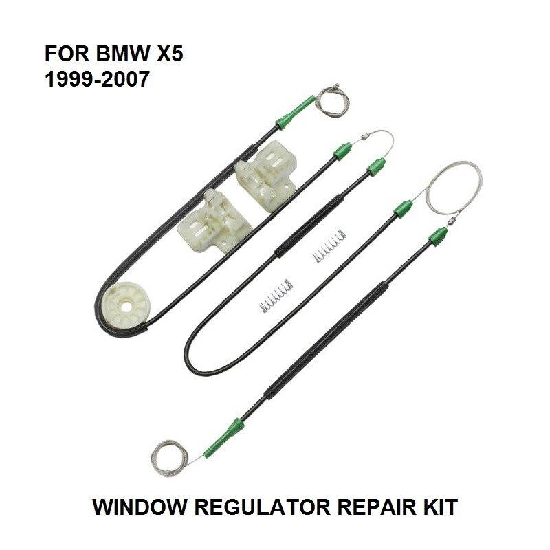 ELECTRIC CAR WINDOW REGULATOR FOR BMW X5 WINDOW REGULATOR REPAIR KIT FRONT-LEFT SIDE **NEW** 1999-2007